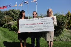 RDC Networks raises $1,400 for the United Way Milton in 2012 hosting our 2nd Annual Charity Wine Tasting Event at Casa Americo, Milton