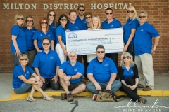 Milton Business Connections Raises $5,000 for Milton District Hospital Foundation holding a Charity Bowlathon at Champs Family Entertainment Centre