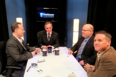 Rob Duvall appears on the weekly TV Cogeco show #TheIssue with host Mark Carr as the voice of the Milton community